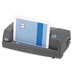 GBC Electronic Punch/Stapler-Electric Punch/Stapler,Punches 24 Sh.,18\