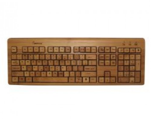 Impecca KBB500 Full Bamboo Custom Carv Keyboards