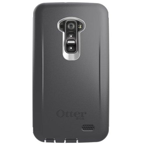 OtterBox Defender Series Carrying Case for LG G Flex – Retail Packaging – Glacier (White/Gunmetal Grey) image