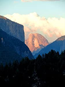"Half Dome Light, Yosemite National Park - Matted Photo Art Print 11"" X 14"""