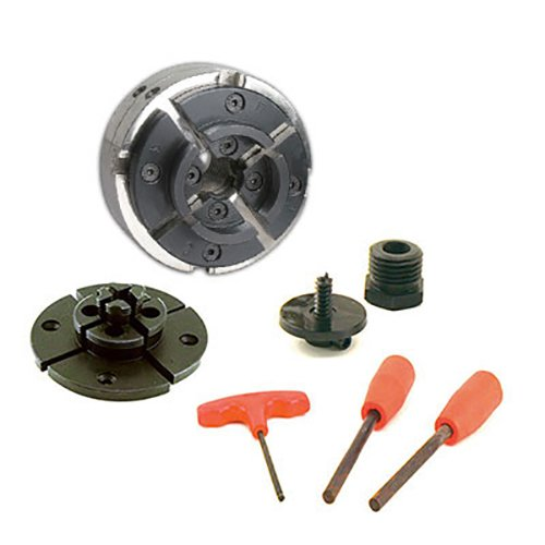 Discover Bargain PSI Woodworking CUG3418CC Utility Grip 4 Jaw Lathe Chuck System