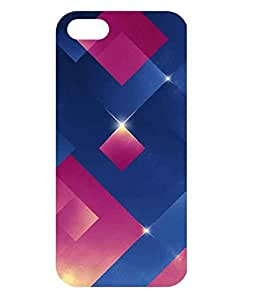 Dzinetree Back Cover for Apple iPhone 5 - Multicolor