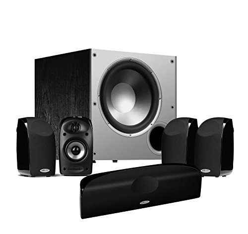 Polk Audio Tl 1900 Blackstone 5.1-Channel Home Theater Speaker System