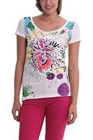 Desigual Termic - T-shirt - Manches courtes - Femme