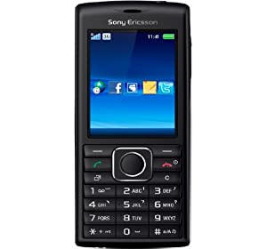 Sony Ericsson Cedar J108i Unlocked QuadBand GSM Phone with 2 MP Camera, Bluetooth, and MicroSD Slot--International Version with No US Warranty (Black/Silver)