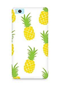 AMEZ designer printed 3d premium high quality back case cover for Xiaomi Mi5 (pineapple)