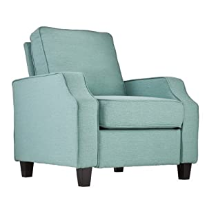 Southern enterprises kinsley upholstered - Turquoise upholstered dining chair ...