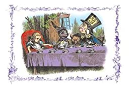 30 x 20 Stretched Canvas Poster Alice in Wonderland: A Mad Tea Party
