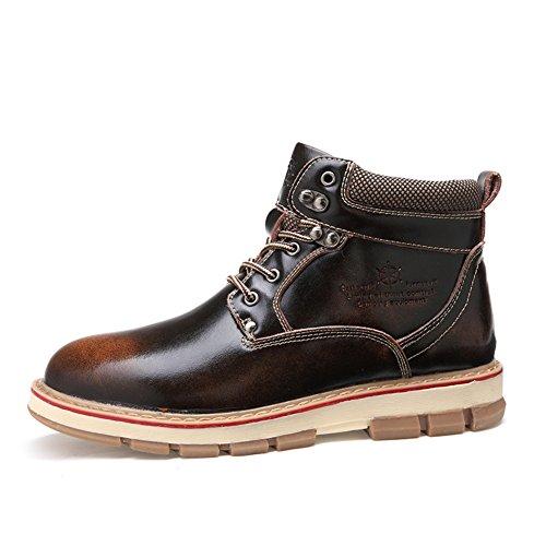 Haute chaussures sport mode hommes / grosse tête outillage chaussures /Bottes de Martin/ la neige bottes en Angleterre