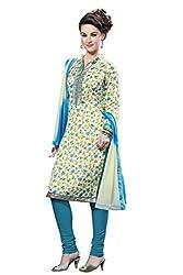 HSFS FESTIVE BHGALPURI WOMAN'S DRESS MATERIAL