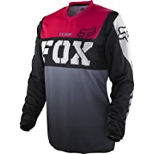Fox Racing HC Kids Girls MX/Off-Road/Dirt Bike Motorcycle Jersey - Black/Pink / Small