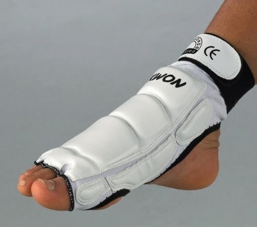KWON Taekwondo Fuß Protektor L schwarz