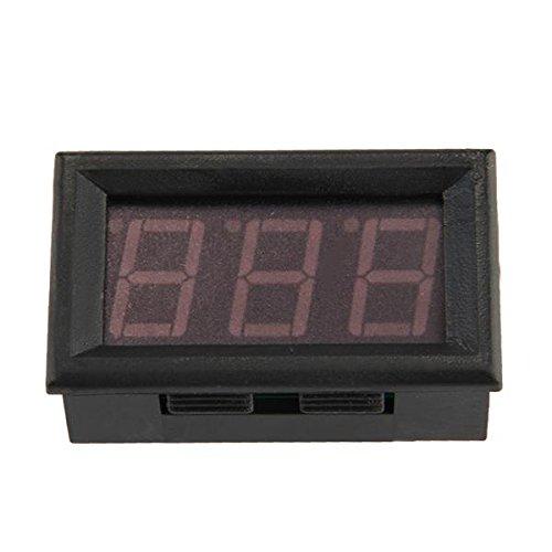 Digital Ammeter Amp Panel Meter Amperemeter 0-50A Red Led Display