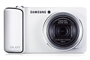 Samsung Galaxy Kamera (16 Megapixel, 21-fach opt. Zoom, 12,2 cm (4,8 Zoll) Touchscreen, Cortex A9, Quad-Core, 1,4GHz, WiFi, 3G, Android 4.1) weiß