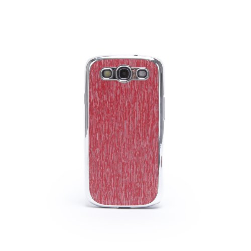Doublju Luxury Plastic Snap-on Hard Back Cover Phone Case RED