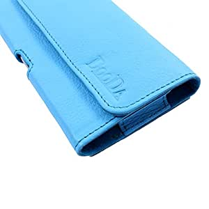 Dooda Genuine Leather Belt Pouch Case For Sony Xperia Tipo / Tipo Dual (WHITE)