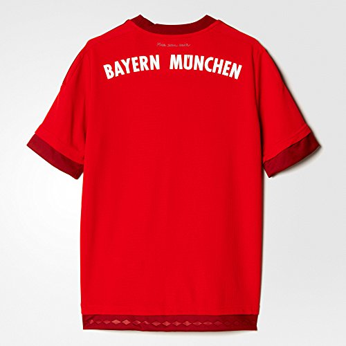 adidas youth 2015 bayern munich fc home jersey small apparel accessories clothing shirts tops. Black Bedroom Furniture Sets. Home Design Ideas