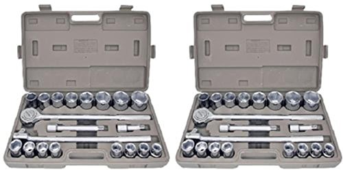 socket-wrenches-42pc-metric-sae-3-4-drive-socket-set-w-storage-case-jumbo-ratchet-wrench-0-ship