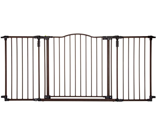 North-States-Supergate-Deluxe-Dcor-Metal-Gate-Matte-Bronze