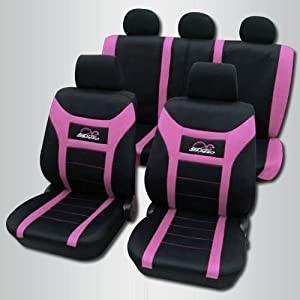 housses de si ge voiture rose sport car couvert 71. Black Bedroom Furniture Sets. Home Design Ideas