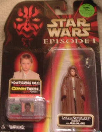 Star Wars Figure Episode I Anakin Skywlaker (Naboo) w/Comlink Unit