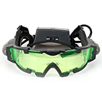 Floureon® JYW-1312 Outdoor Help Night Vision Goggles Glasses with Flip Out LED Light from Floureon®