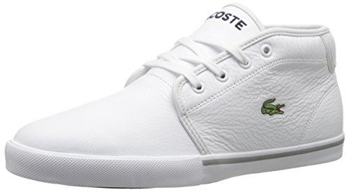 Lacoste Men's Ampthill Lcr3 Shoe, White, 8 M US