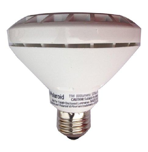 Polaroid Lighting Plpar30S-75.800.11.7D 75-Watt Equivalent 800-Lumen Par30 Dimmable Led Light Bulb, Warm White