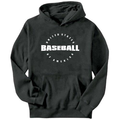 Usa Baseball / America Athl Dept Mens Hoodie