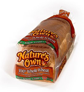 Amazon.com : NATURES OWN WHOLE WHEAT BREAD 100% PER LOAF ...