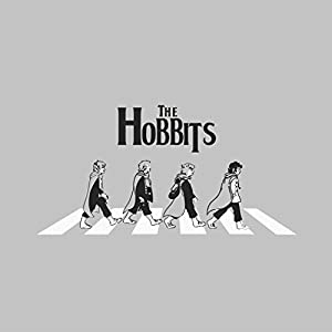 The Hobbits Beatles Abbey Road Lord Of The Rings, Women's T-Shirt