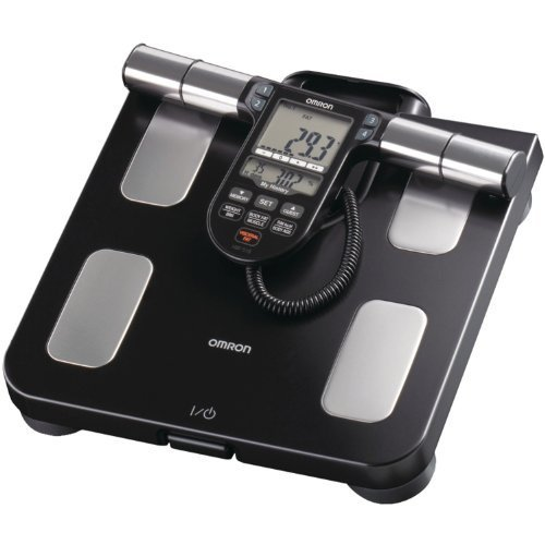 Omron Hbf-516B Full-Body Sensor Body Composition Monitor And Scale