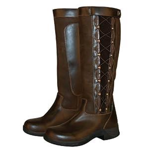 Dublin Ladies Pinnacle Boots 6 Chocolate