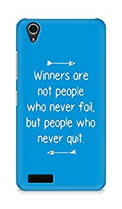 AMEZ but people who never quit Back Cover For Lenovo A3900