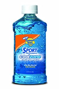 Banana Boat Cool Zone After Sun Cooling Gel, 8 Ounce (Pack of 2)