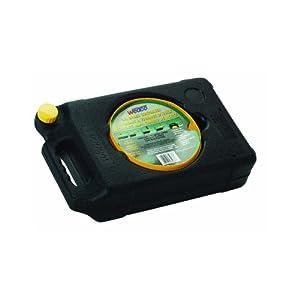 Oil Drain Pan - Sealable Auto Waste Storage Container (6 Quart) Low Profile