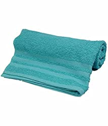 Skumars Love Touch Cotton Bath Towel - Green