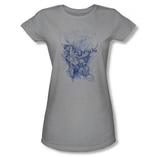 Dark Knight Rises - Batman Character Study Junior's T-Shirt
