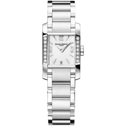Baume & Mercier Women'S M0A08739 Diamant Diamond Bracelet Watch