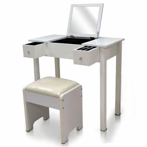 best website 9c5f3 308a9 Hartleys Bedroom Dressing Table with Folding Vanity Mirror ...