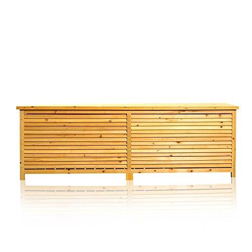 Gartenmobel Lounge Bequem : Melko 2in1 Holz Bank Auflagenbox Kissenbox Gartenbank Gartenmöbel Tru