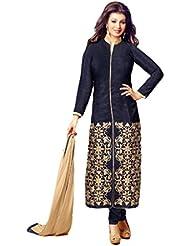 Fashion Galleria Women's Printed Unstitched Regular Wear Salwar Suits For Women Dress Material (salwarsuits_dresses...
