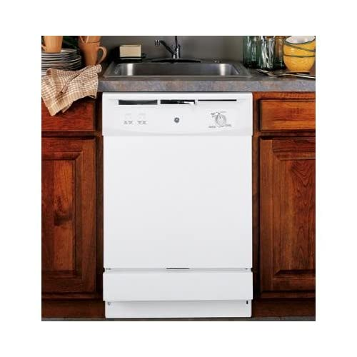 ... .com: GE : GSM2200NWW Full Console Under-the-Sink Dishwasher - White