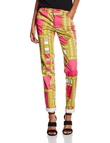 Versace Jeans EA1HNB0S0_E17919, Pantaloni Donna, Bianco-E003, 29