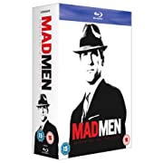 Post image for Mad Men – Seasons 1-4 [UK Import] [Blu-ray] ab 49€