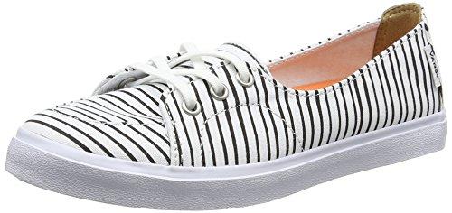 Vans Palisades Sf - Scarpe da Ginnastica Basse Donna, Bianco (just Stripes/true White/black), 40 EU