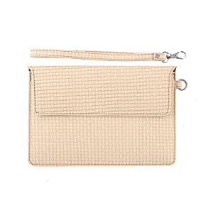 DooDa PU Leather Pouch Case Cover With Magnetic Closure & Video Viewing Stand For IvoryE