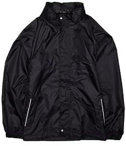 Regatta Kids Packaway Leisurewear Jacket - Black, Size 11-12