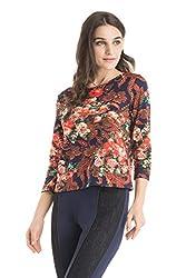 Kazo Women's Body Blouse Shirt (107645MULTICxs)