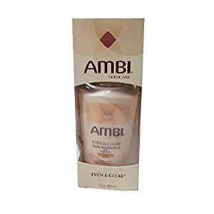 Ambi Skincare Even & Clear Daily Moisturizer with SPF 30, 3 Ounce
